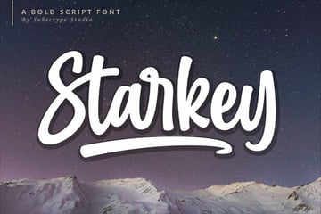 Starkey Bold Script