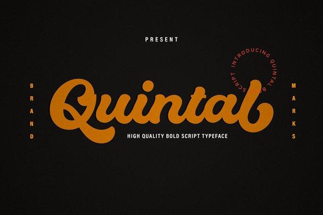 Quintal Script Bold