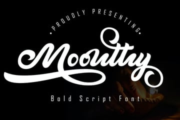 Moonthy Bold Script