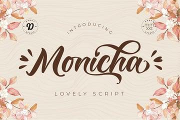 Monicha Script