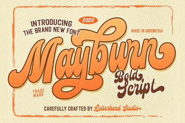 Mayburn - Bold Script