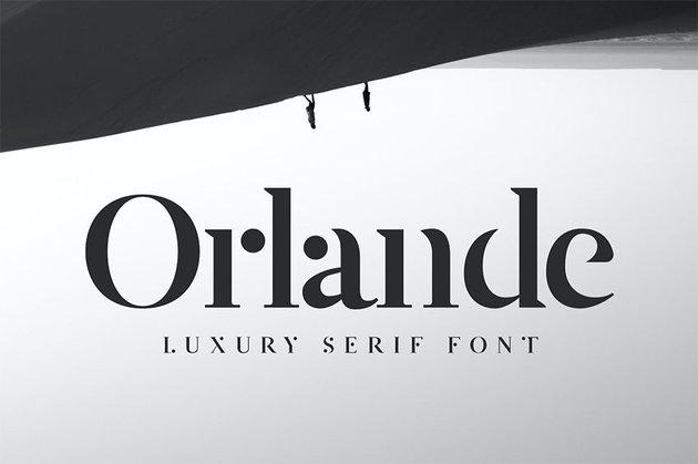 Orlande - Popular Luxury Serif Font