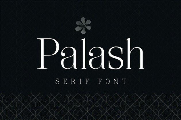 Palash - Popular Serif Font