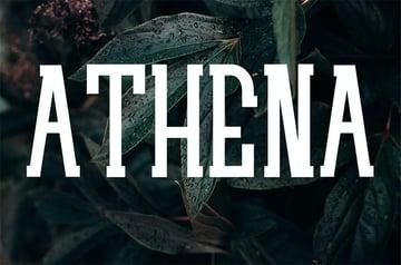 ATHENA - Popular Serif Font