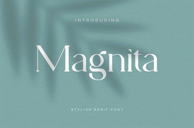 Magnita Popular Serif Font