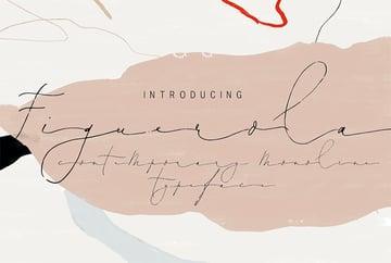 Figuerola - Script Font