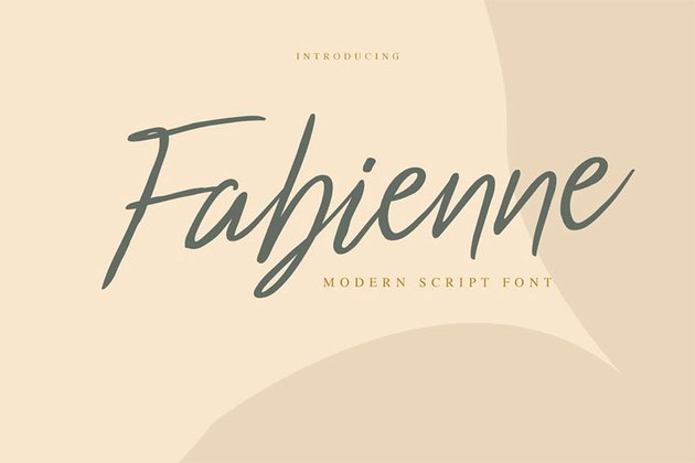 Fabienne Popular Handwritten Font