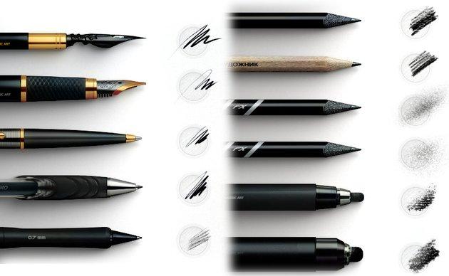 Classic Art Brush Pack