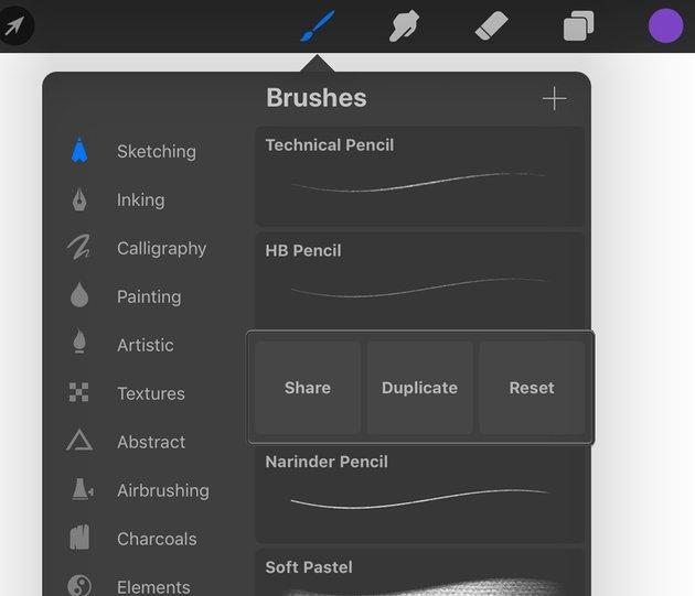 Additional Brush Options