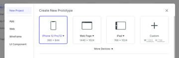 choose iphone size document