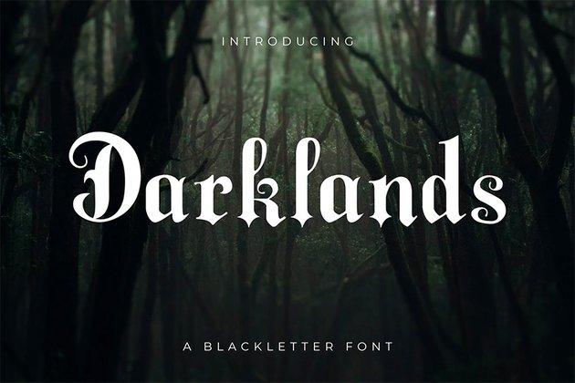 Bold Old English Font