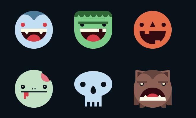halloween mask icon smilies