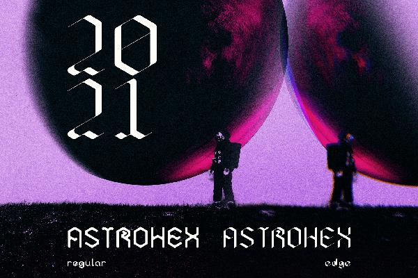 Astrohex Free Font