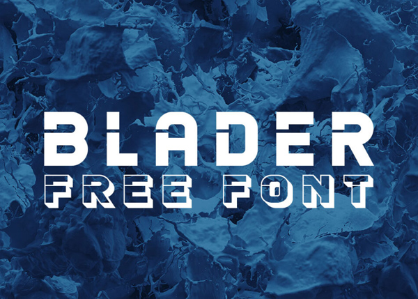 Blader Script Free Font
