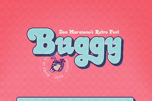Buggy Retro Free Font