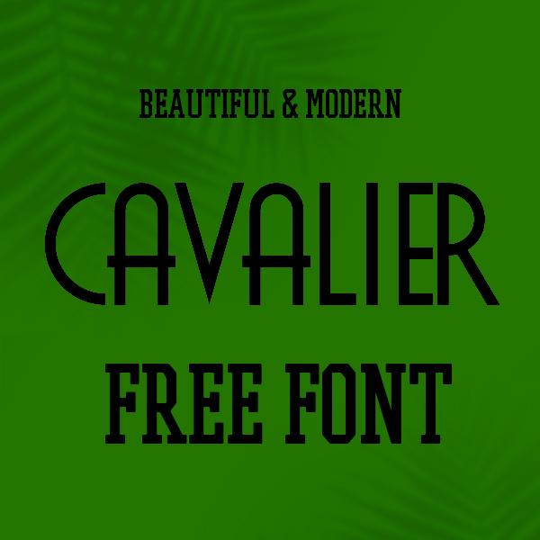 Cavalier Free Font