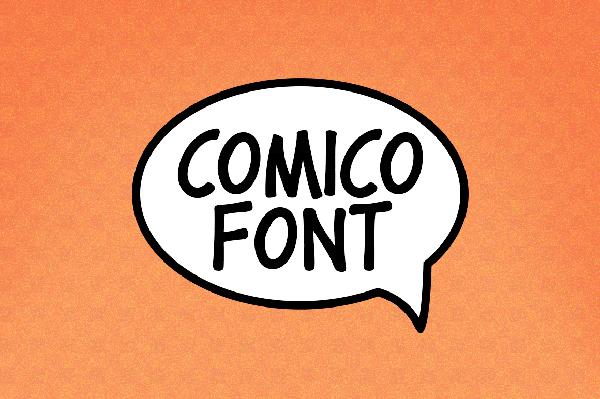 Comico Free Font