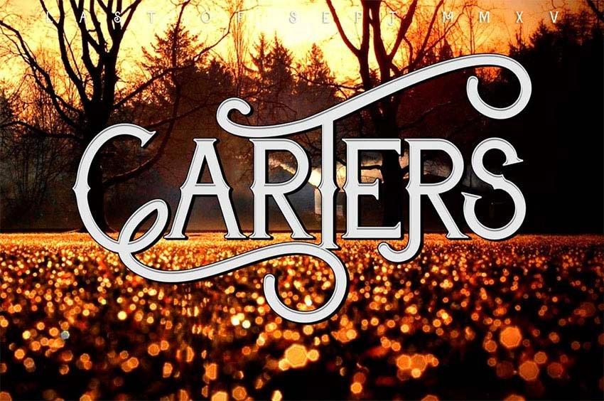 Carter Typeface