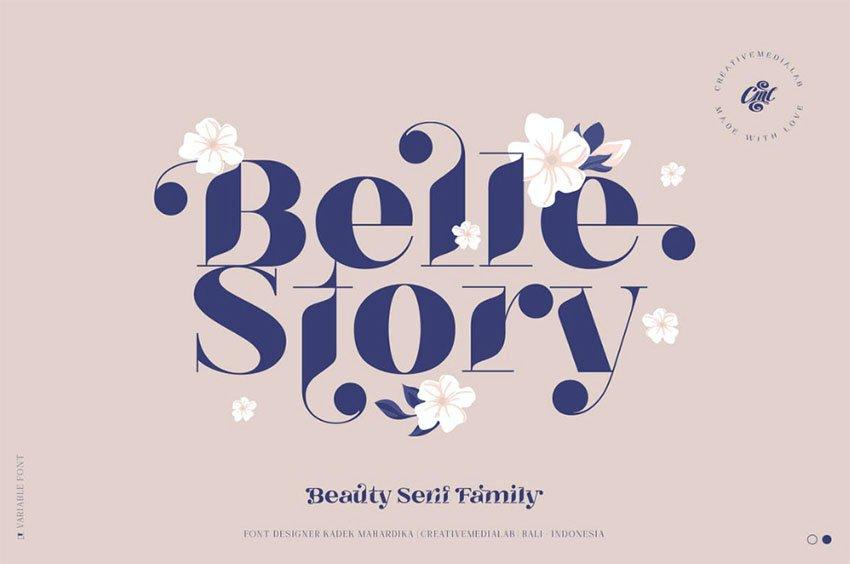 Belle Story - Beauty Serif Family