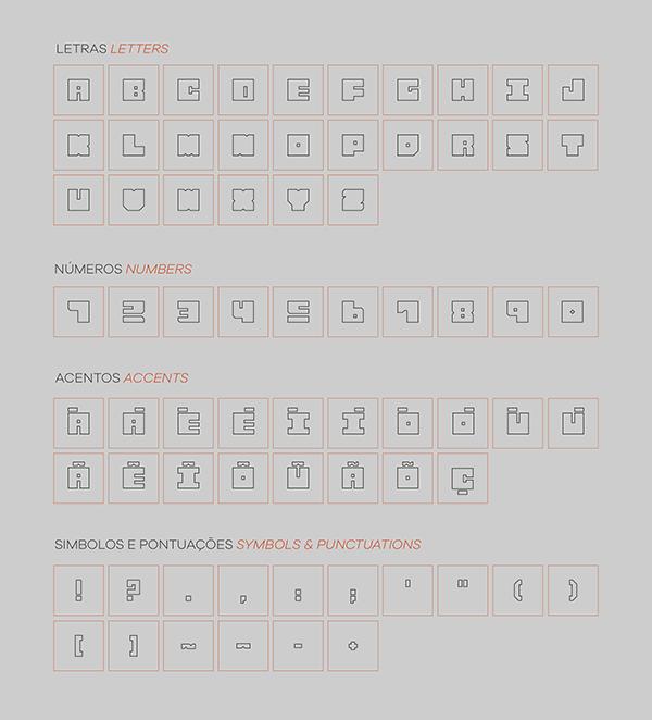 Mago Sans Font Letters