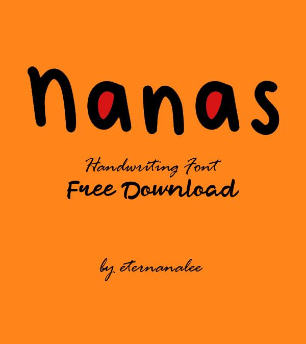 Nanas Free Font