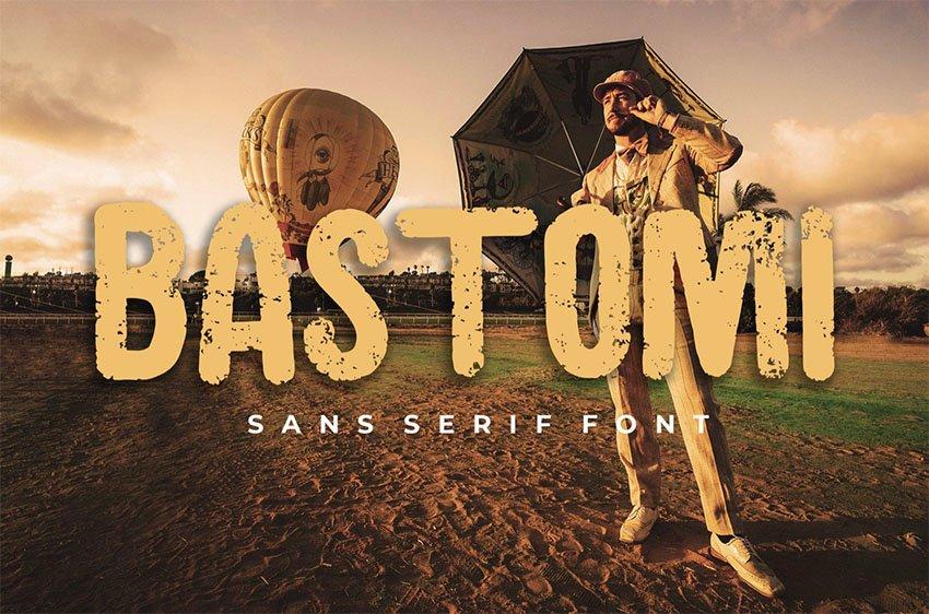 Bastomi Popular Sans Serif Font