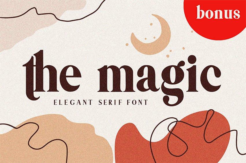 Themagic Popular Serif Font