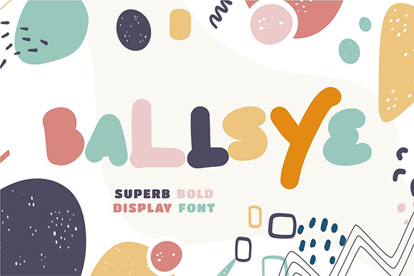 Ballsye Bold Free Font