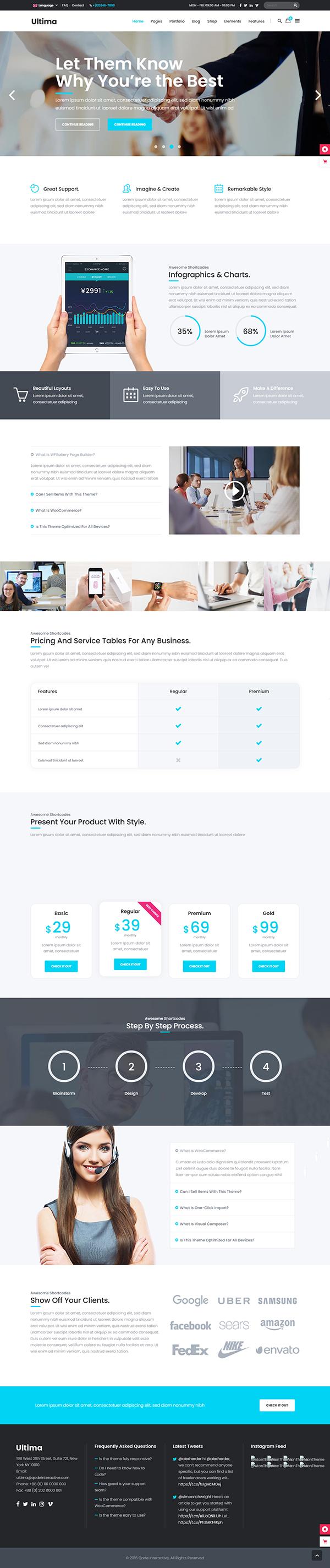 Ultima - Digital Marketing Agency Theme