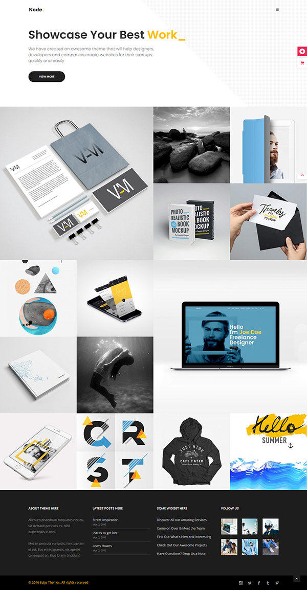 Node - Digital Marketing Agency Theme