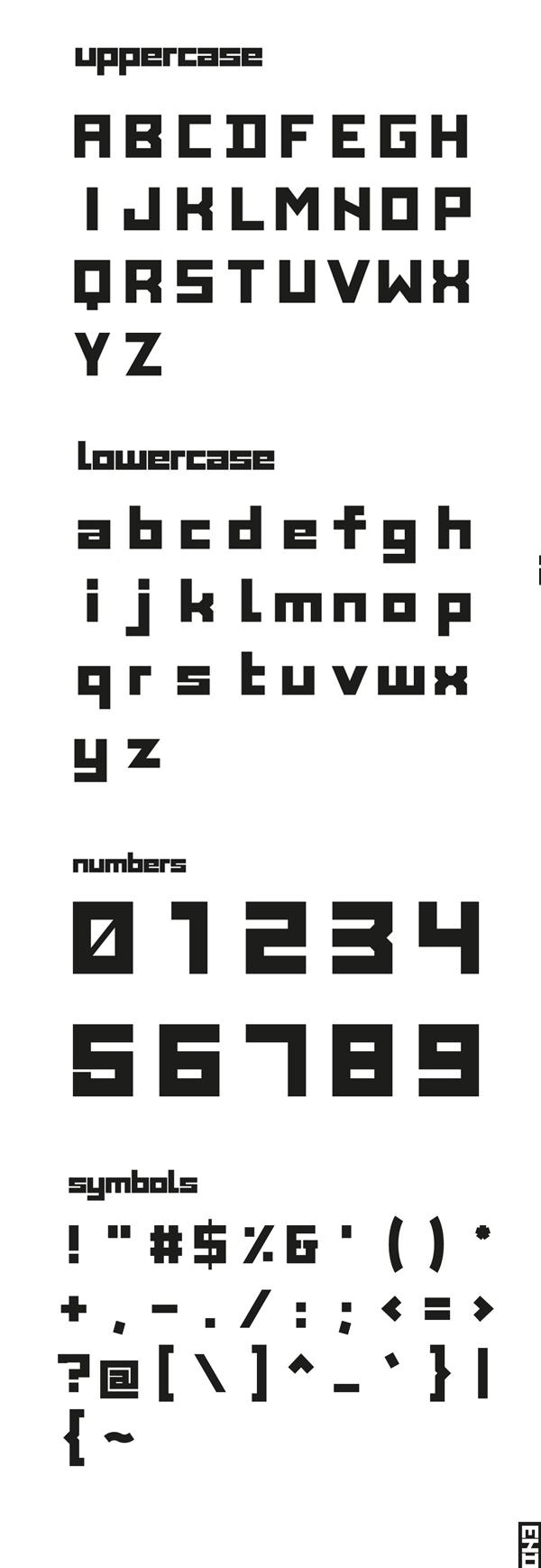 BLOCK 53 Font