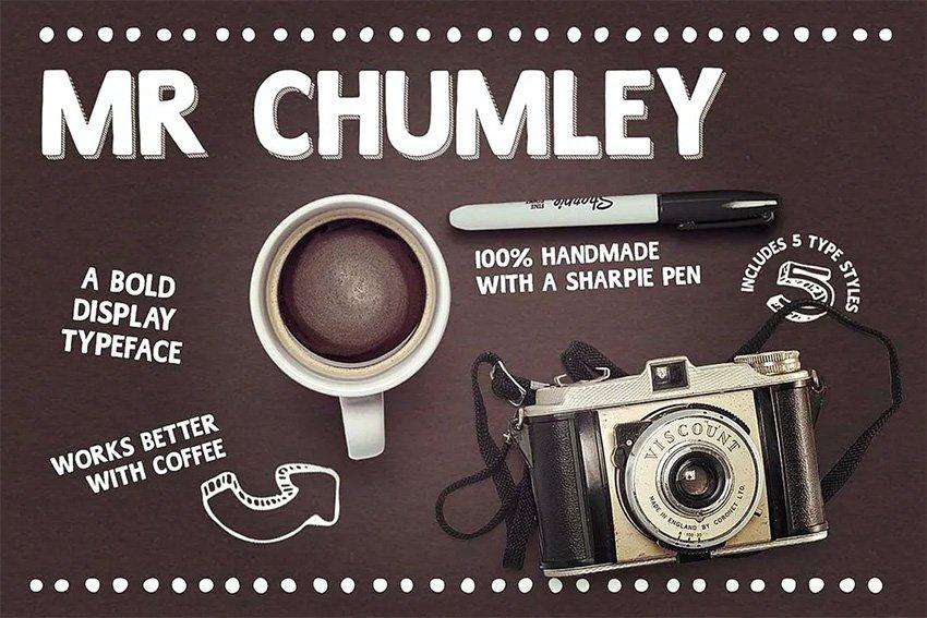 Mr Chumley Bold Sans Serif Font