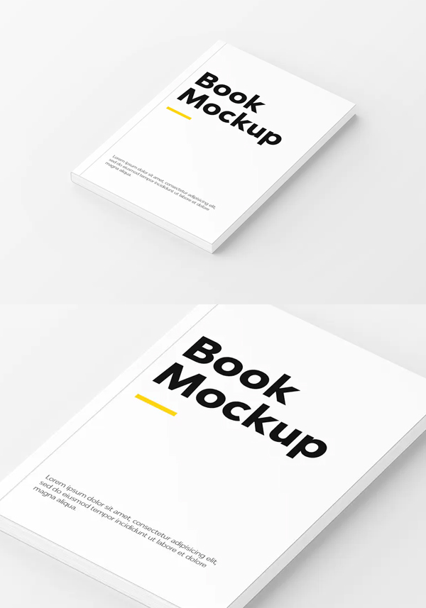 Creative Book Mockup