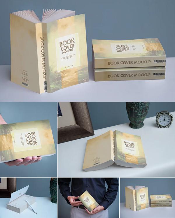Creative Softcover Book Mockup