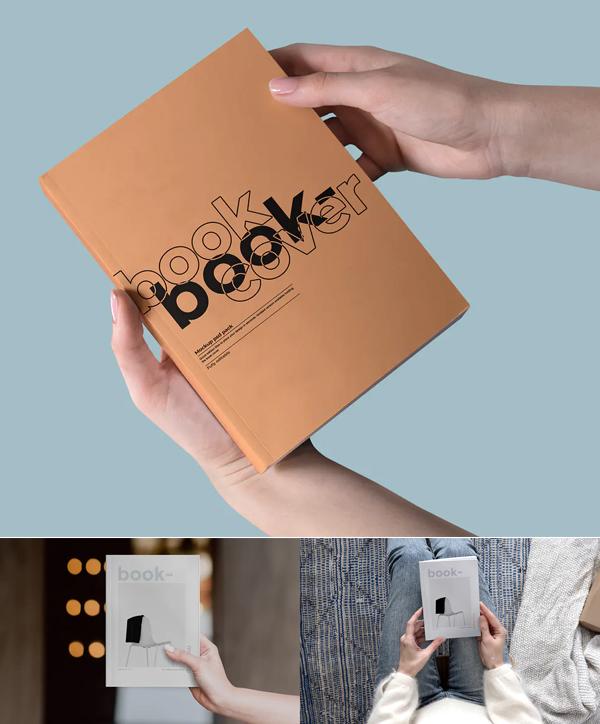 Clean Book Mockup