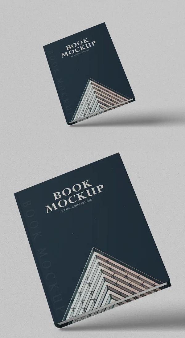 Unique Book Mockup