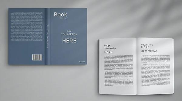 Creative Book Mockup Hardcover