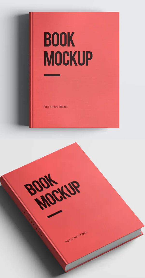 Perfect Hard Cover Book Mockup