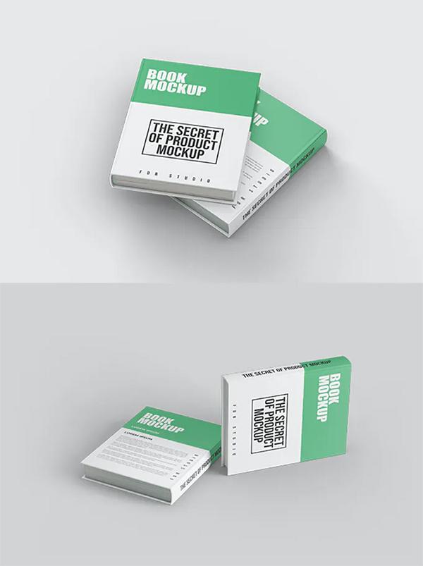 Elegant Hard Cover Book Mockup