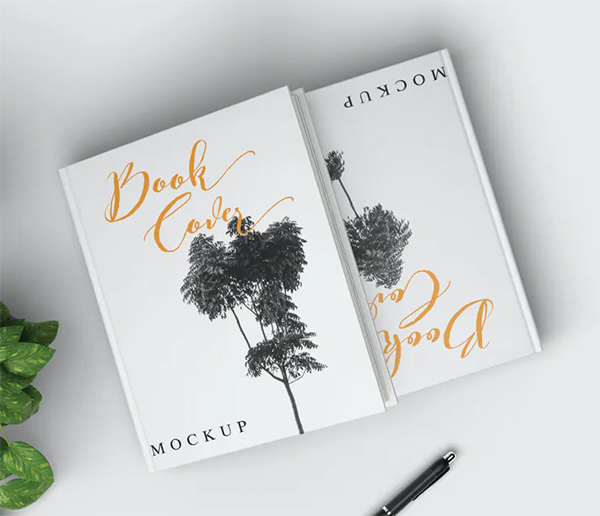 Simple Perfect Book Cover Mockup