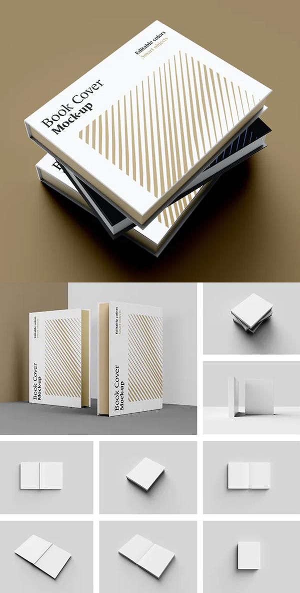 Elegant Book Mockup