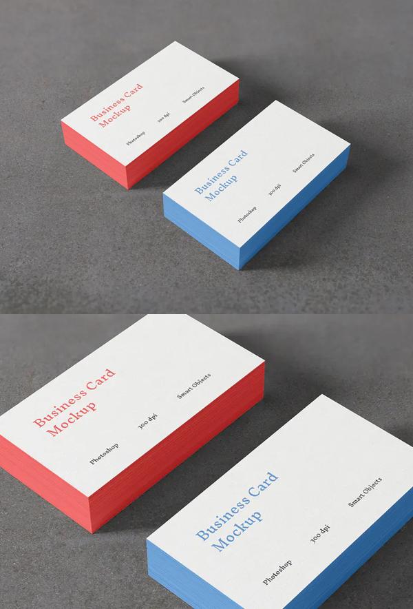 Business Card Photoshop Mockup
