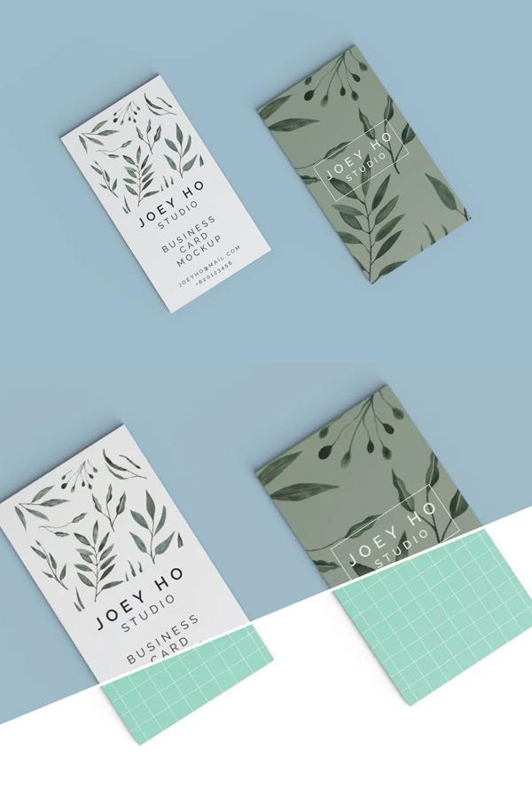 Best Elegant Business Card Mockup