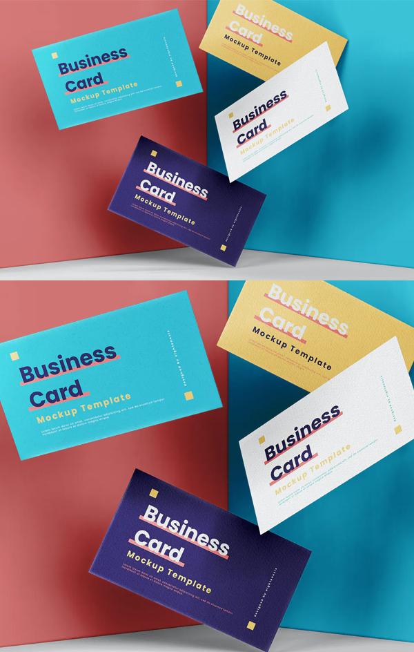 Perfect Elegant Business Card Mockup