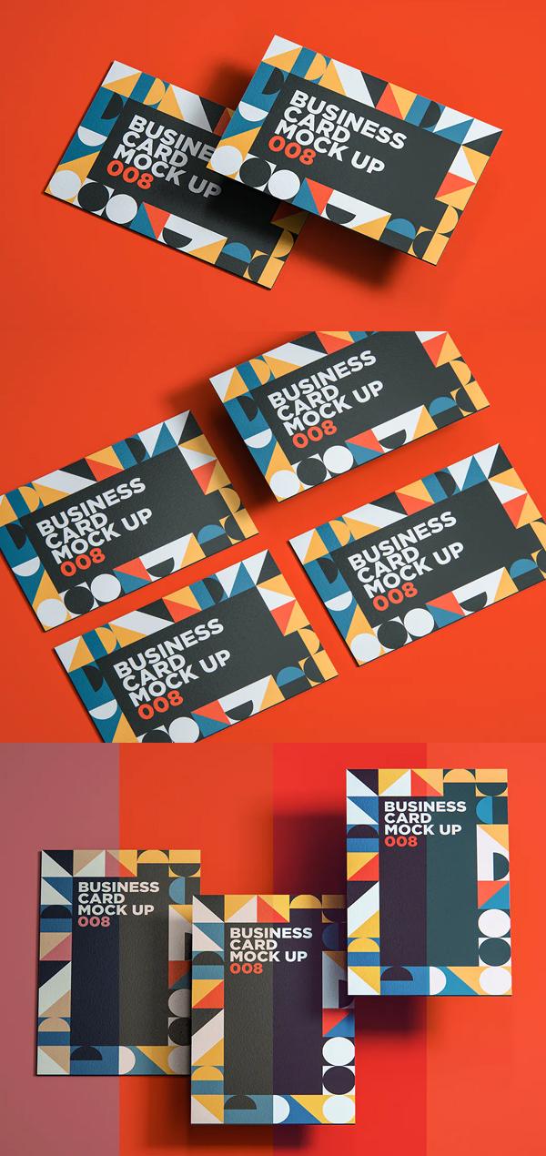 Professiona Business Card Mockup