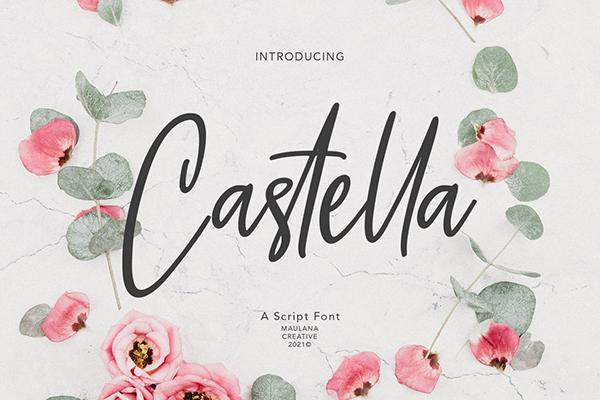 Castella Script Font