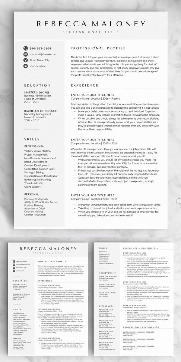 The Maloney Resume CV