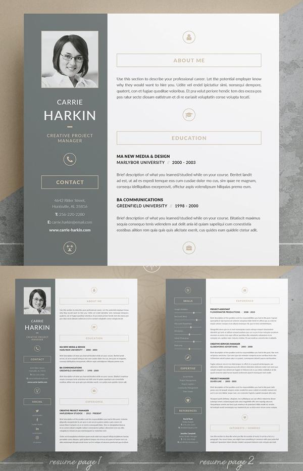 Carrie Resume CV