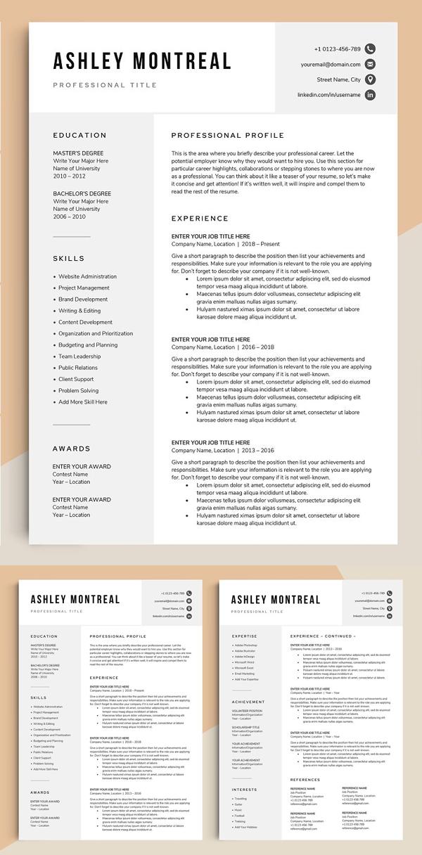 Ashley Resume CV