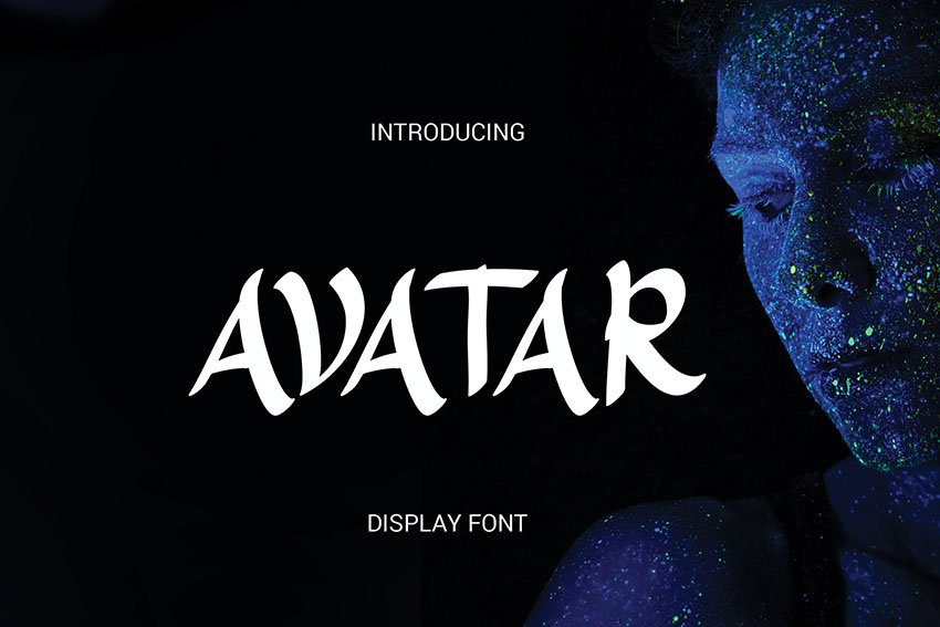 Avatar Display Font